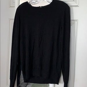 Ann Taylor Black Sweater Size L